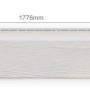 zf bardage bois rectifie blanc